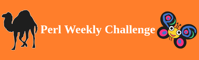 Perl Weekly Challenge